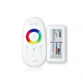 Set MiBoxer RGBW Dimmer și telecomandă RF, 10A, 12-24V