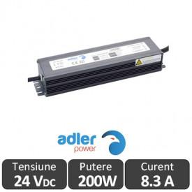 Sursa alimentare ADLER LED 200W 24V IP67