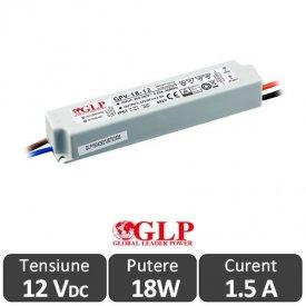 Sursa alimentare GLP LED 18W 12V IP67
