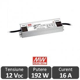 Sursa alimentare LED 192W 12V 16A IP67