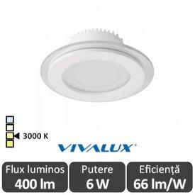 Vivalux VETRI LED 6W 3000K ( Alb-Cald )
