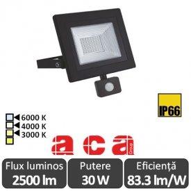 ACA - Proiector LED cu senzor 30W