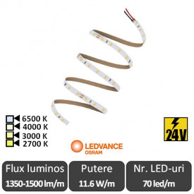 Bandă LED flexibilă - OSRAM Ledvance Performance PSM-1500 rolă 5m alb/alb-cald/neutru/rece