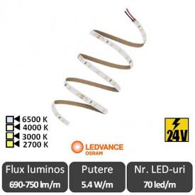 Bandă LED flexibilă - OSRAM Ledvance Performance PSM-600 rolă 5m alb/alb-cald/neutru/rece
