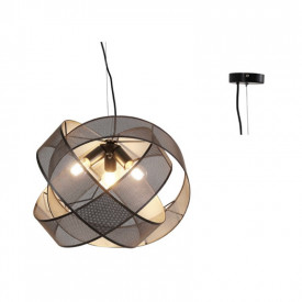 Lampa suspendata GN47P350BK 3xE27
