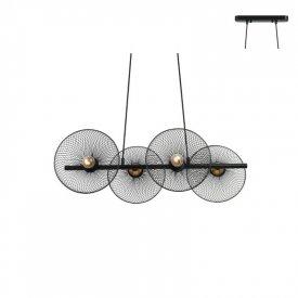 Lampa suspendata HL45844P71B 4xE27