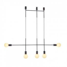 Lampa suspendata TNK855P110BK 5xE27