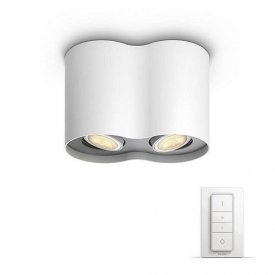 Philips - Spot aplicat HUE Pillar Alb 2x5.5W  LED