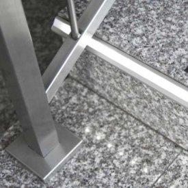 Profil LED de trepte STEP 10, aluminiu anodizat, lungime 2m