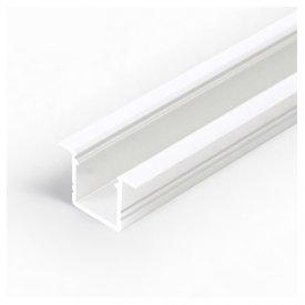 Profil LED încastrat SMART IN 10, alb, lungime 1m