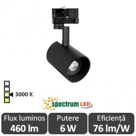 SPECTRUM  Reflector interior Madara Negru  1XGU10