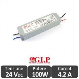 Sursa alimentare GLP LED 100W 24V IP67