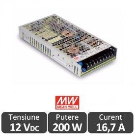 Sursa alimentare LED 200W 12V 16,7A