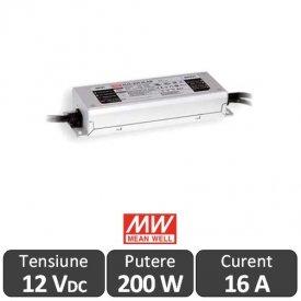 Sursa alimentare LED 200W IP67 12V 16,7A