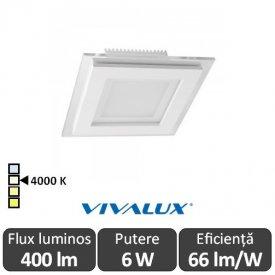 Vivalux KARE LED 6W 4000K (Alb-Neutru)