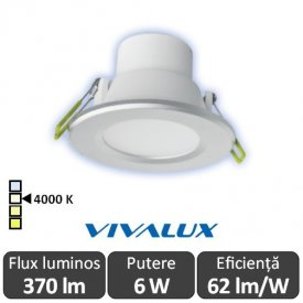 Vivalux TOP LED 6W alb-neutru