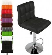 Cadeira de Bar c/ Rotação de 360° e Altura Ajustável