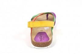 Sandale multicolore Morxiva, din piele naturala