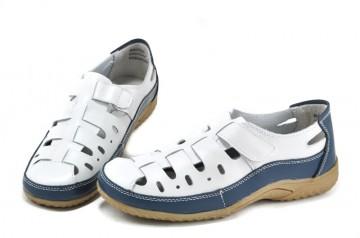 Pantofi din piele naturala Sonia