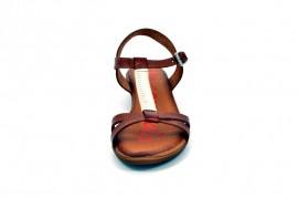 Sandale maro Xusandalia din piele naturala