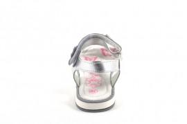 Sandale argintii Happy Bee
