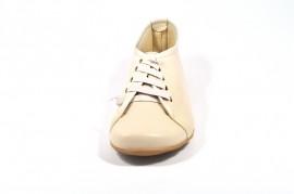 Pantofi bej din piele naturala Top Moden