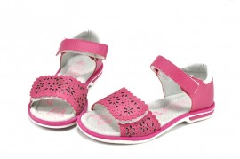 Sandale roz - fuxia Happy Bee CFS6