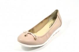 Pantofi bej Myltho, din piele naturala