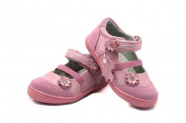 Pantofi roz Happy Bee
