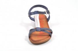 Sandale albastre Xusandalia din piele naturala