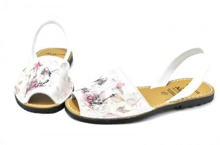 Sandale Avarca Pearl, din piele naturala