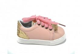 Pantofi sport roz Happy Bee