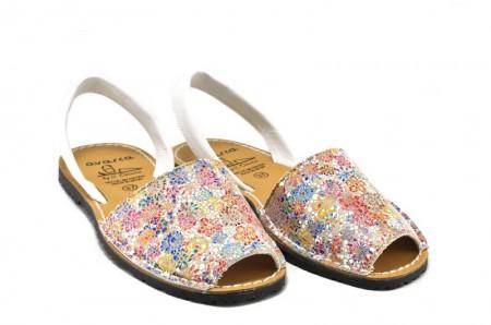 Sandale Avarca Spring, din piele naturala