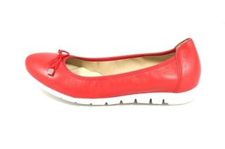 Pantofi rosii Myltho, din piele naturala