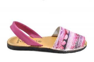 Sandale Avarca Cora, din piele naturala