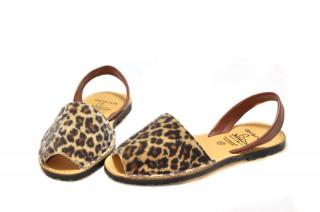 Sandale Avarca Leo, piele naturala