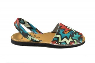 Sandale Avarca Star, din piele naturala