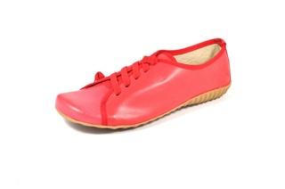 Pantofi rosii  din piele naturala Top Moden