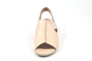 Sandale bej Tupie, din piele naturala