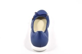 Pantofi albastri Myltho, din piele naturala
