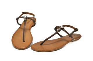 Sandale maro piele naturala Berta