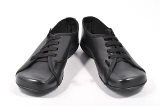 Pantofi negri din piele naturala Top Moden