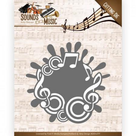 Amy Design snijmal Sounds of Music ADD10135 (Locatie: M030)