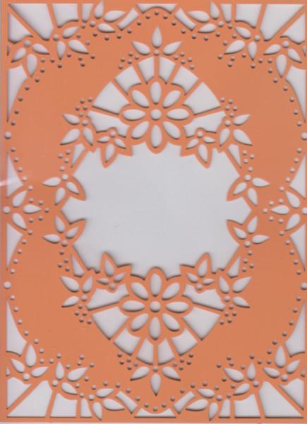Avec borduurmal bloemen 4.054.054 (Locatie: NN231 )