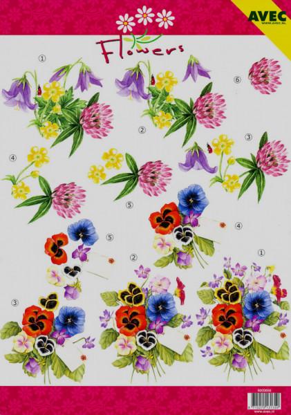 Avec knipvel bloemen 6000056 (Locatie: 4531)