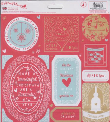 "Do crafts ""12 days of christmas"" 2 vel stansen PMA157208 (Locatie: 1E )"