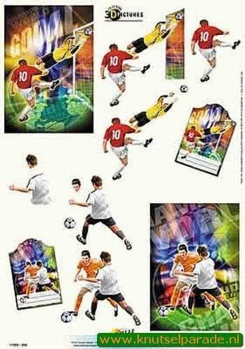Doe maar knipvel voetbal 11055-245 (Locatie: 4518)