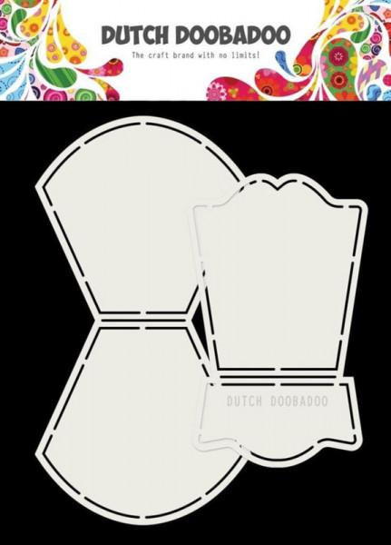 Dutch Doobadoo Card Art Wobble (Wieg) los 2-delig A5 stencil 470.713.762 (Locatie: 1441)