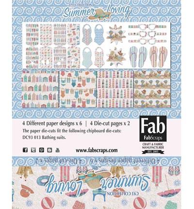 FabScraps Card Kit Summer Loving MC93001A (Locatie: 4230)