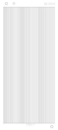 Find It stickervel glanzend zilver CD3055 (Locatie: h355)